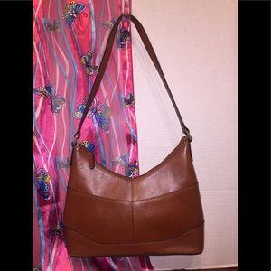 Etienne Aigner's Slim Leather Shoulder Bag